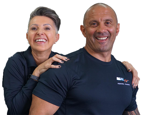 personal trainers Fred and Danni