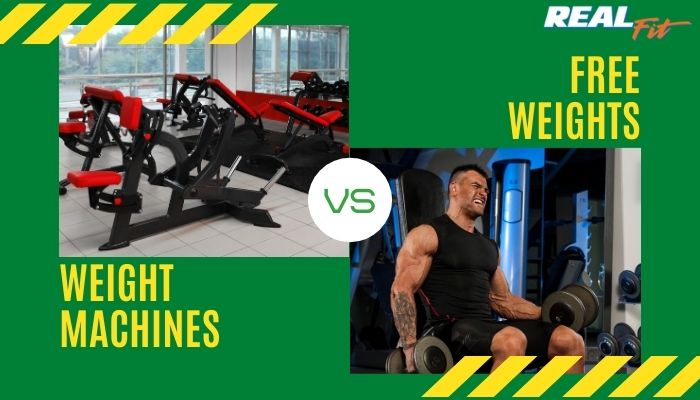 weight machines vs free weights