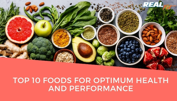 top 10 foods for optimum health