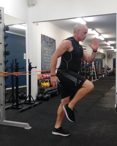 resistance bands workout for men