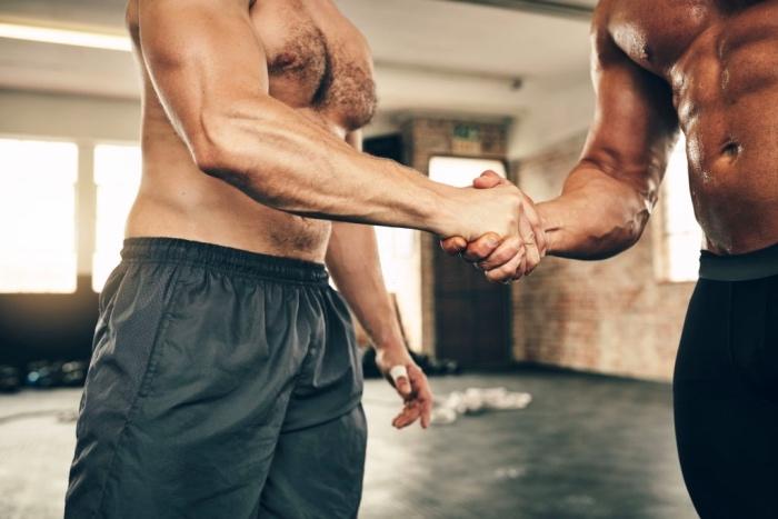 handshaking exercise