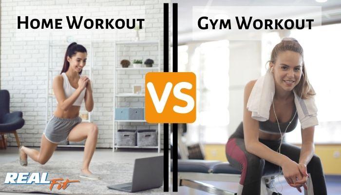 gym workout vs home workout