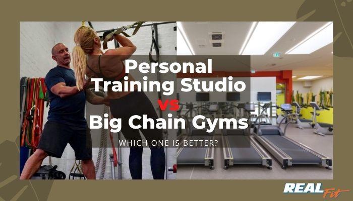 personal training studio vs gyms