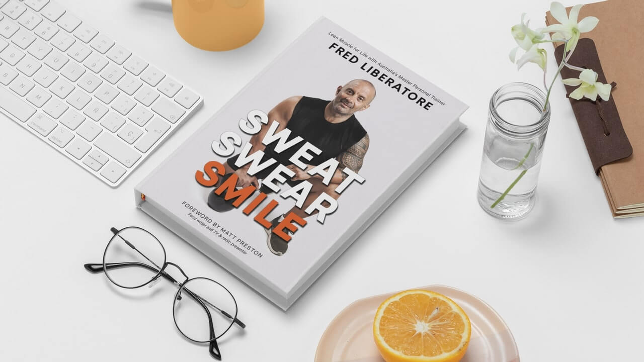 sweat swear smile book by fred